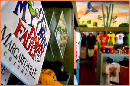 Cozumel Margaritaville store