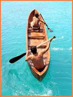 Cozumel canoes