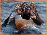 Cozumel canoe crossing