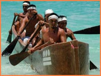 Cozumel canoe crossing