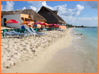 Mr Sancho's beach, Cozumel.