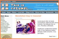 New Cozumel website.