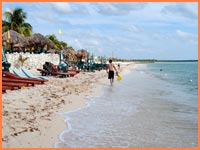 Palancar Beach in Cozumel