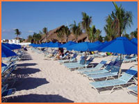 Paradise Beach in Cozumel.