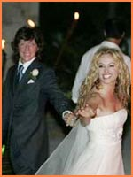 Paulina Rubio's wedding