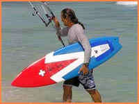 Kiteboard instructor