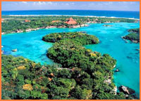 Xel ha tour from Cozumel.