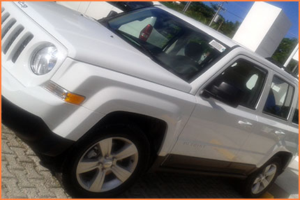 Cozumel Jeep Patriot rental