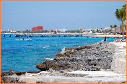 Cozumel luxury beach