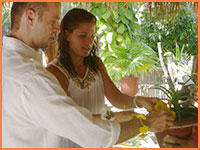 Cozumel wedding vow renewal