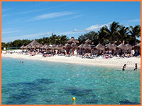 Cozumel adult beach package