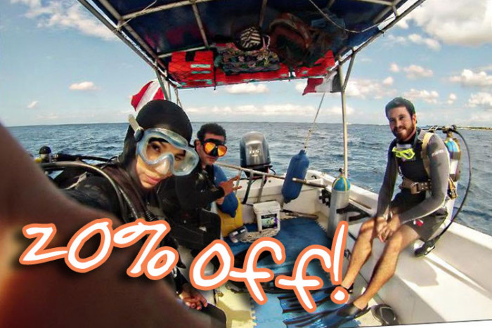 Boat Dive for Certified Divers - $87.20