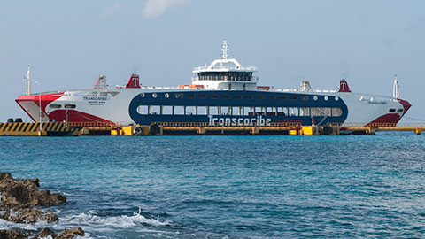 Car Ferries To From Calica Playa Del Carmen This Is Cozumel