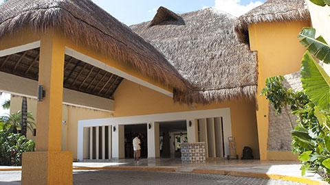 Cozumel Allegro new lobby building