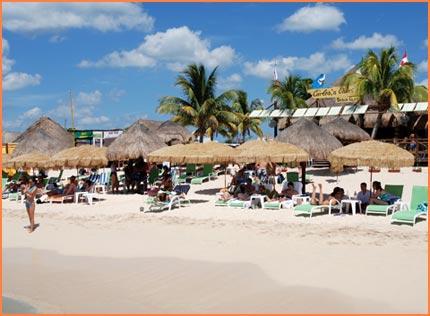 Carlos N Charlies Beach
