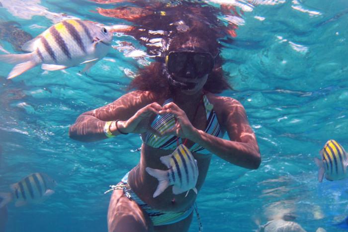 Snorkel and ATV