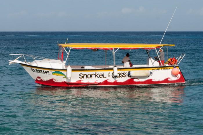 Smaller boats