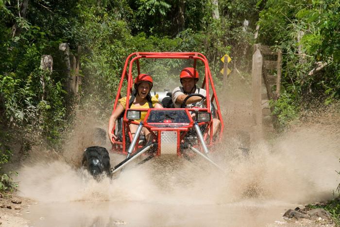 Muddy off road tour