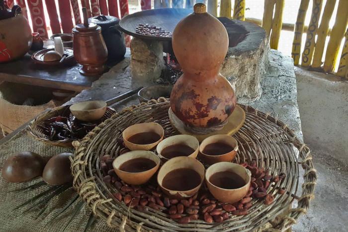 Mayan drinks