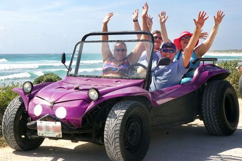 Cozumel Buggy Tour With Beach, Snorkel And Lunch - This is Cozumel