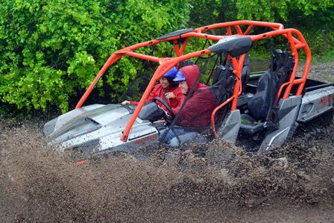 Xrail Jungle Buggy to Jade Cavern - This is Cozumel