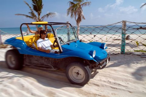 Cozumel Buggy Tour With Beach, Snorkel And Lunch - This is